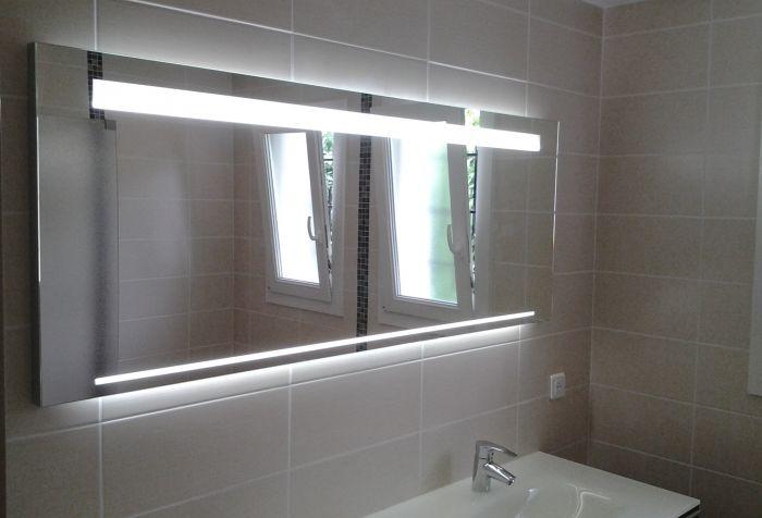 salle de bain rénové à reims double vasque