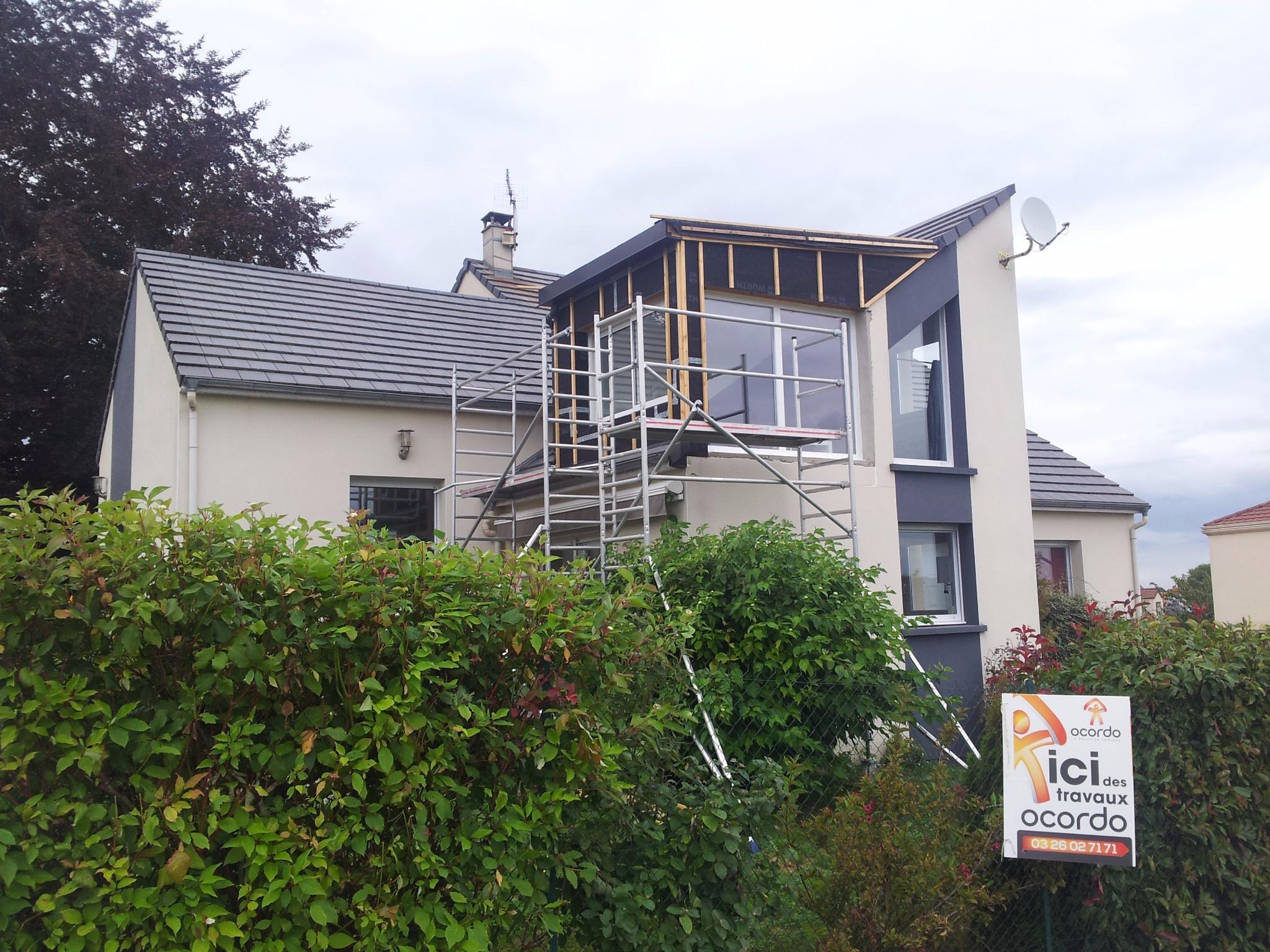 Construction avec sur l vation pargny les reims ocordo for Extension maison reims