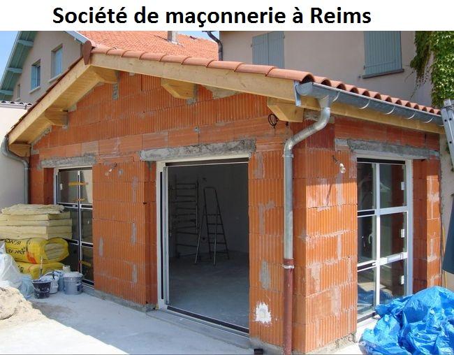Société de maçonnerie à Reims