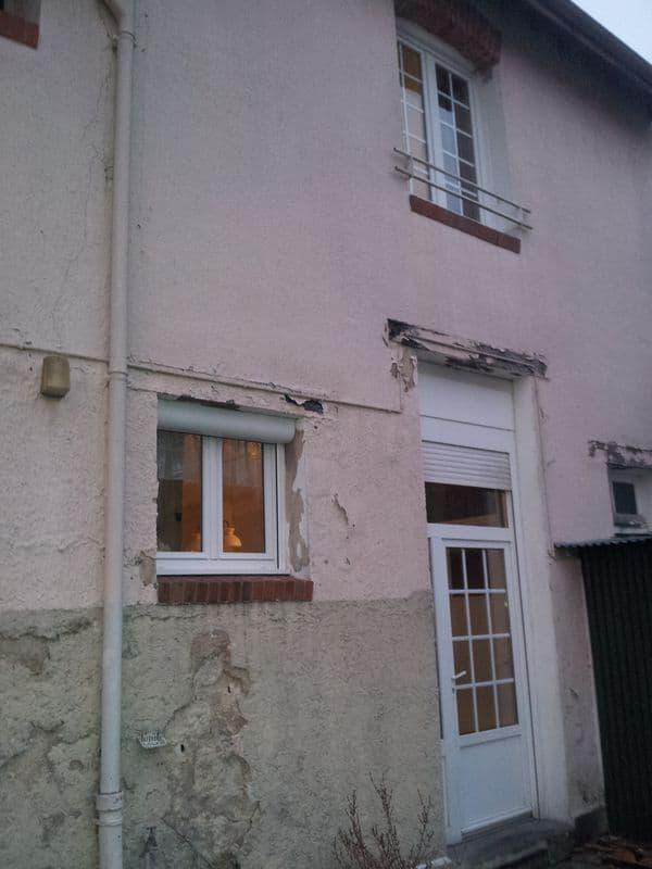 Ravalement de fa ade bazancourt pr s de reims travaux de fa ade ocordo - Ravalement de facade cout ...