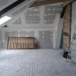 Aménagement des combles à Reims – Travaux de plâtrerie et aménagement à Reims