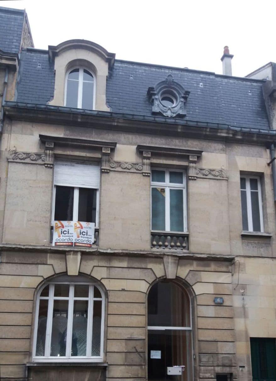 Démarrage chantier rénovation complète 200 Reims