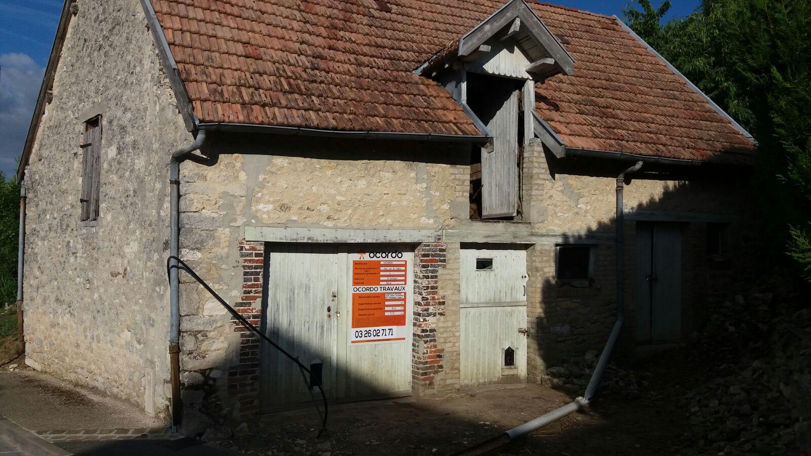 Amenagement D Une Grange En Habitation Sur Poilly Pres De Reims