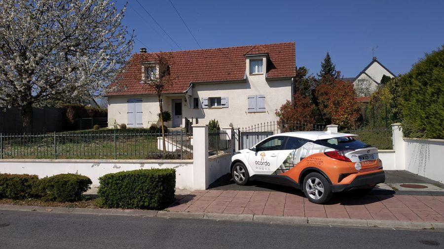 Création d'une extension dans une maison à Cormontreuil