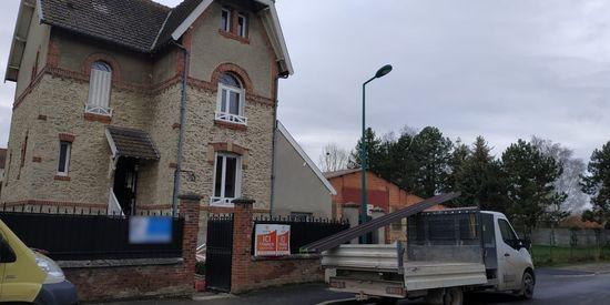 Ouverture mur porteur et pose de parquet massif à Loivre